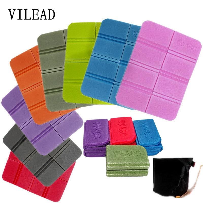 VILEAD New XPE 8 Folder Camping Mat Folding Portable Small Cushion Moisture-Proof Waterproof Prevent Dirty Picnic Mat Beach Pad(China)