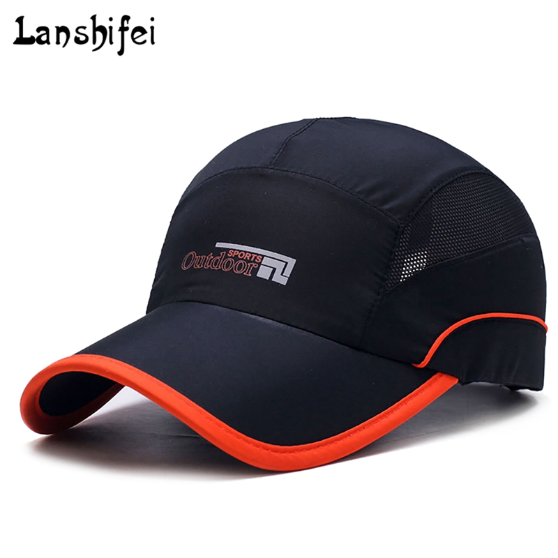 2018 New Baseball Cap Women Men's Hat Outdoor Sports Mesh Cap Ultra-Slim Quick-Drying Adjustable Cap Youth Summer Snapback Hats joymay quick drying casual baseball cap breathable snapback sun hat fishing hat fashion cap b293