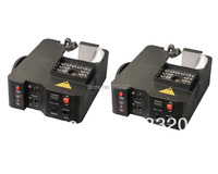 2X LOT NEW 1500W Digital 24pcs RGB LED Colorful UP Fog Machine For Wedding Effects Event Party,Stage Fog Machine 8-10Meter