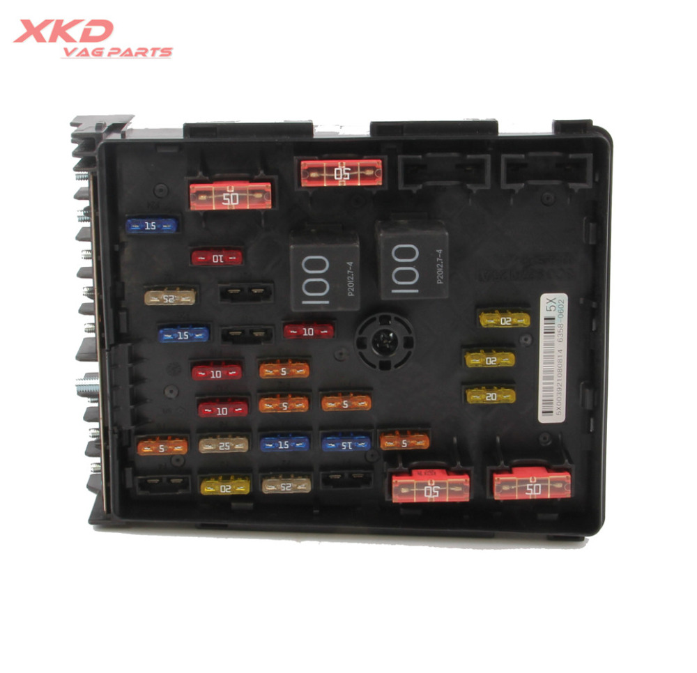 medium resolution of main relay fuse box fit for vw passat b6 b7 tiguan cc sharan audi seat alhambra 3c0937125a in fuses from automobiles motorcycles on aliexpress com
