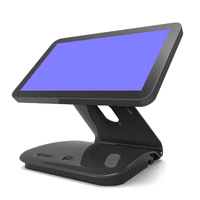 15inch windows7 Resturant equipment pos system all in one pos with touch screen