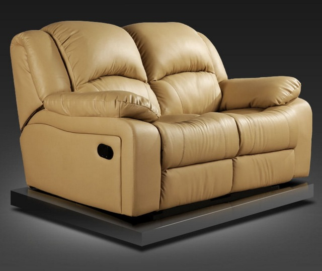 Leather Swivel Recliner Chair 5