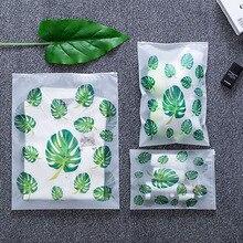 050 Fashion transparent leaf travel waterproof bag, suit clothing, underwear, shoes, make-up storage bag