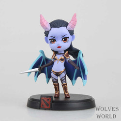 7pcs/Set DOTA 2 Game Figure Kunkka Lina Pudge Queen Tidehunter CM FV DOTA2 PVC Action Figure Collection Model juguetes Xmas gift