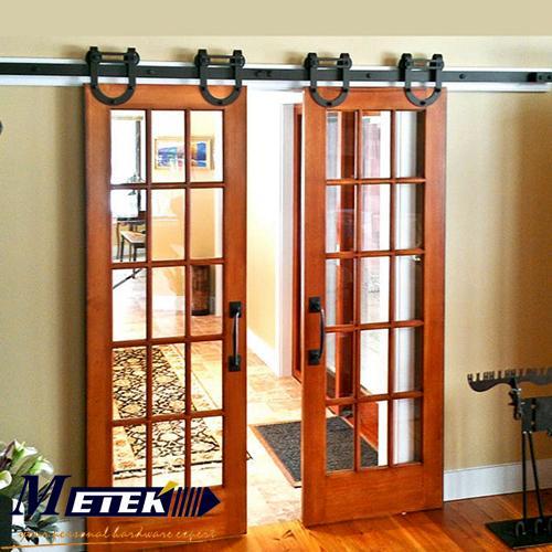Popular interior barn door buy cheap interior barn door for Interior glass barn door designs