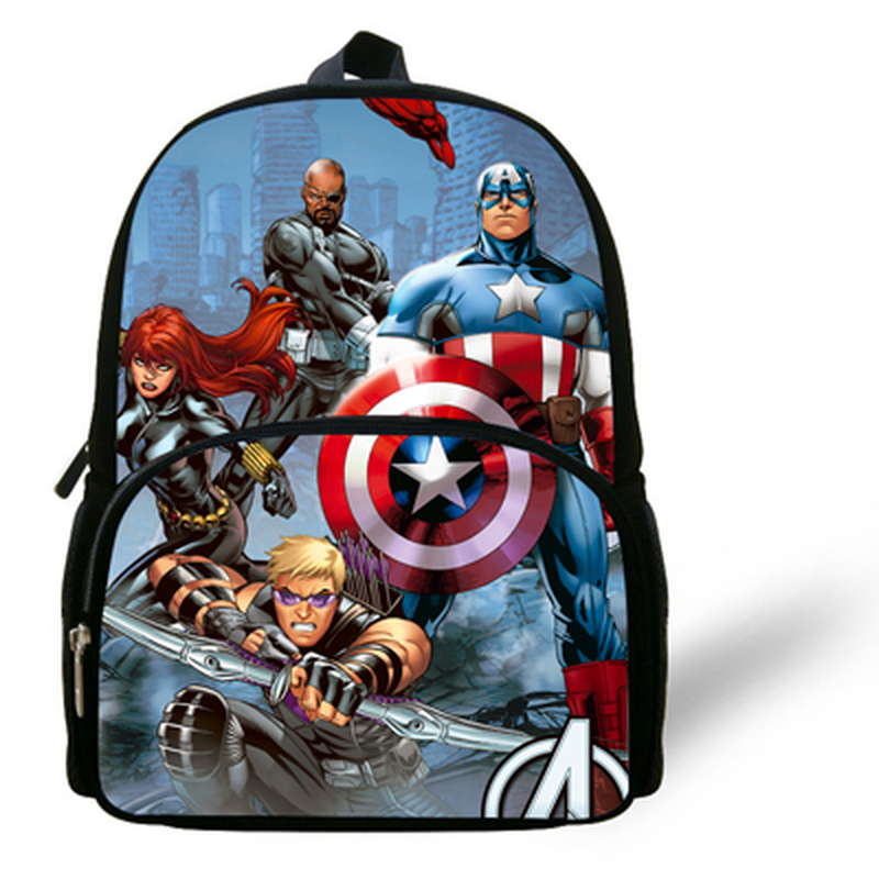 New Marvel Avengers Kids Backpack Child Book Bag School