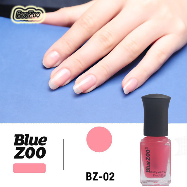 Blue ZOO 1 Bottle 5 Color Pink Black Red White Clear 6 ML Beauty ...