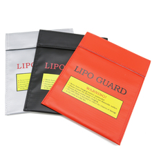 1pcs Fireproof RC LiPo Battery Safety Bag Safe Guard Charge Sack 180 X230mm