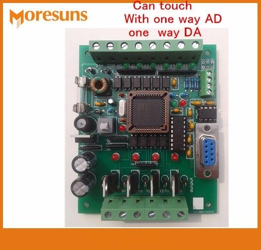 Fast Free Ship PLC Industrial Control Board 51 MCU Control Board Transistor Output FX1N FX2N 10MR AD DA PLC