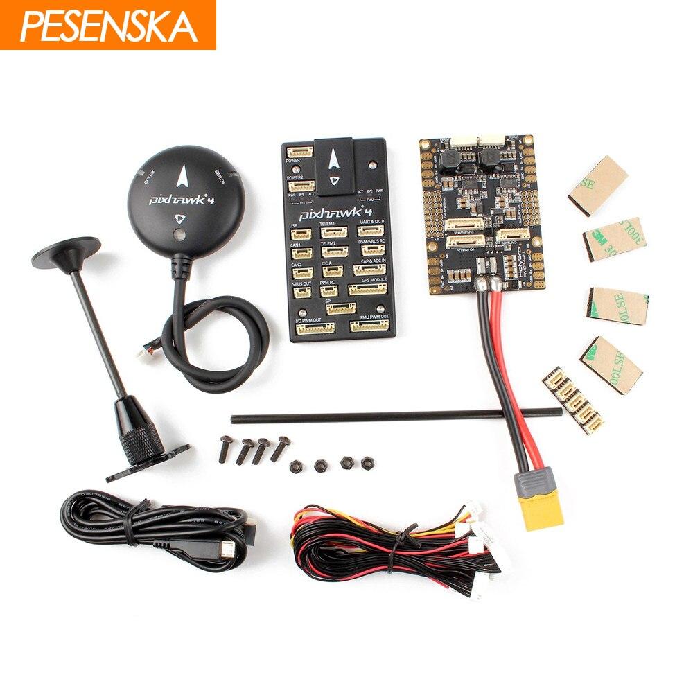 PESENSKA HolyBro Pixhawk 4 Autopilot Flight Controller M8N GPS Module Combo