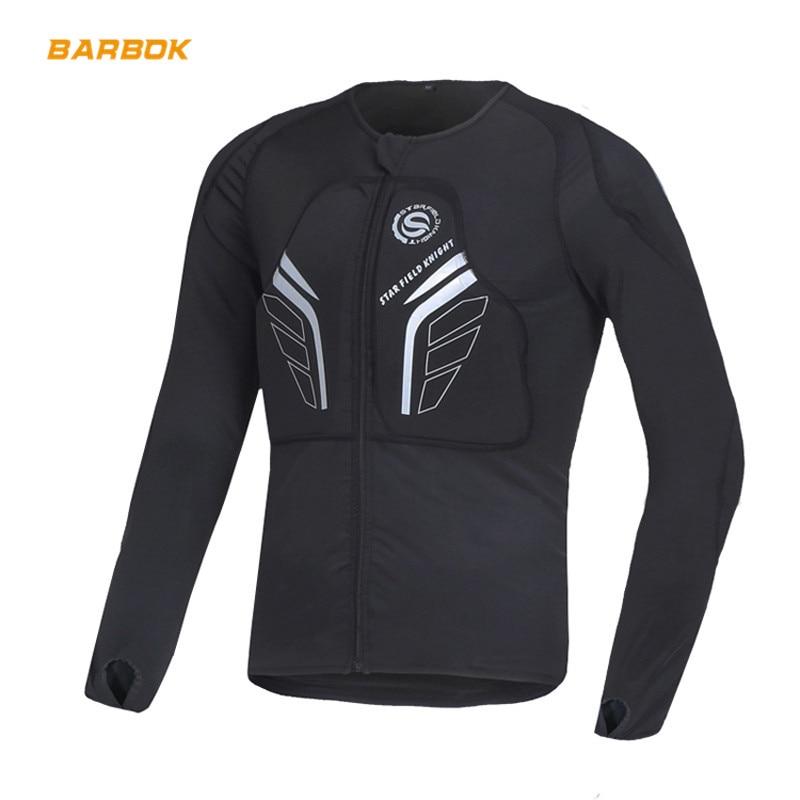 Veste de Moto armure Motocross hors route équipement de Protection corps de sécurité serré veste de course de Moto réfléchissante avec Protection de la poitrine