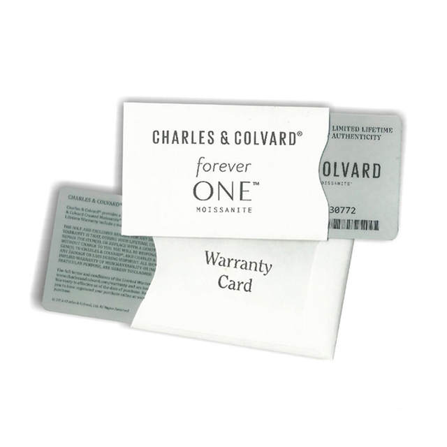 Charles Colvard Forever One 0.91CT VS DEF Color Princess Square Brilliant Cut Moissanite Diamond Loose
