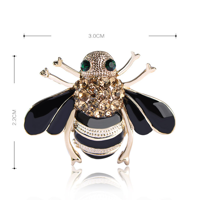 Madrry Bee Brooches