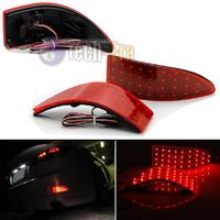 Red Lens 33 SMD LED Rear Bumper Reflectors Lights For 2006 13 Lexus IS250 IS350 GSE20