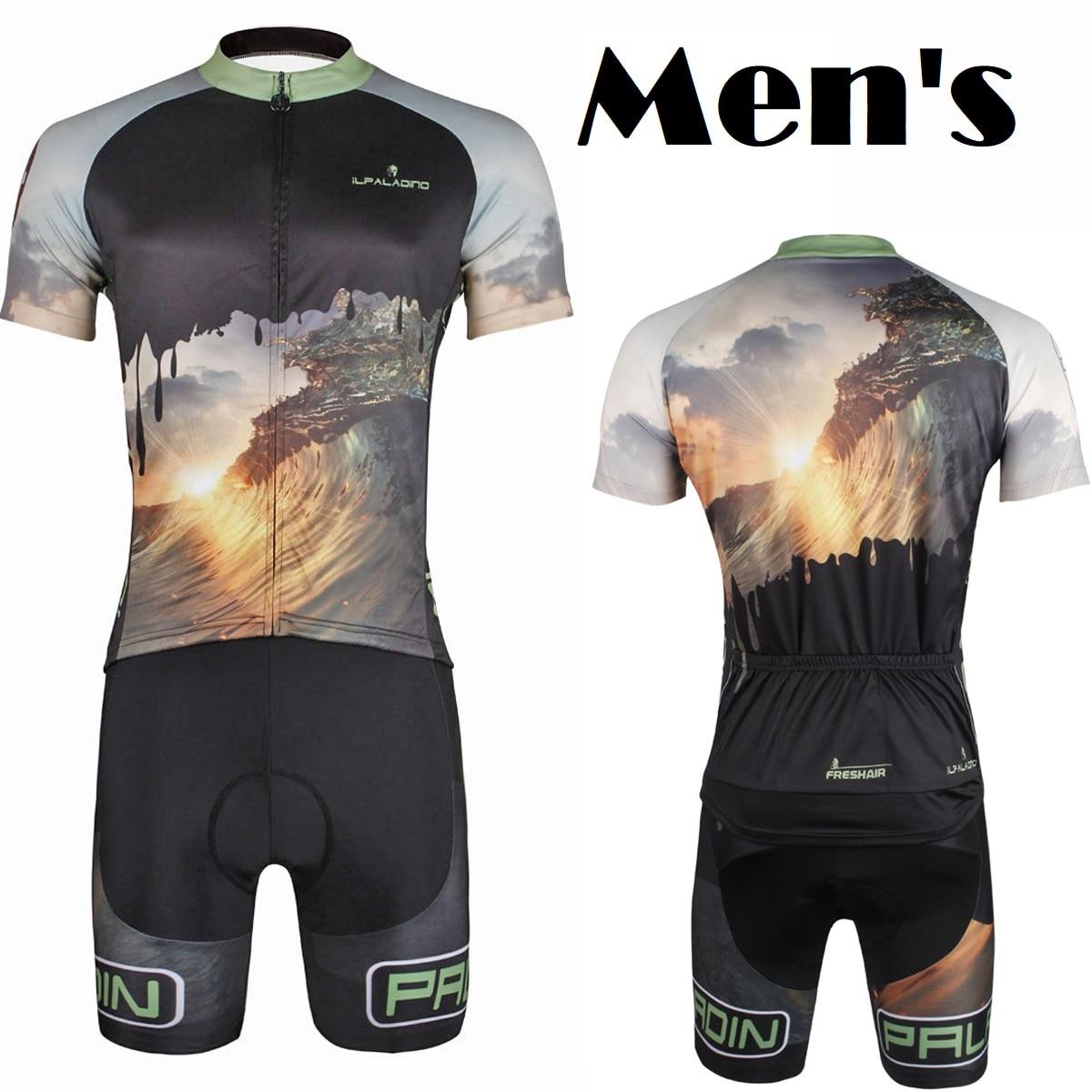 Short Sleeve Cycling Jerseys 2017 Team Cycling Suit Racing Jersey BIB Pro Sportswear Free Shipping ILPALADINO QI17DT752