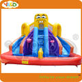 Spongebob water slide with inflatable pool ,commercial bouncers inflatables free shipping,inflatable toys,inflatable pvc toys