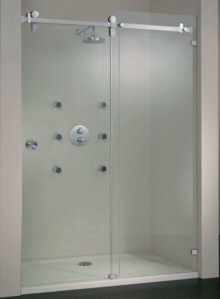 sistema de puertas correderas cuarto de ducha sistema de la puerta corredera de cristal