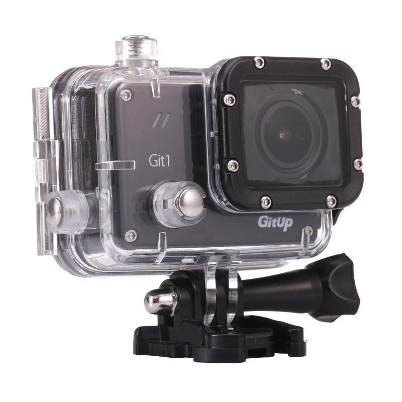 Original GitUP Git1 1.5 Novatek NTK96655 Wifi Sports Action Camera 1080p 30fps Full HD For Sony IMX322 12MP Support G-Sensor gitup git1 1 5 inch lcd wifi rf control action camera