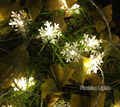 AC220V 5M 28 LED Snowflake String Fairy Lights christmas lights outdoor Wedding room indoor Decoration for home luces de navidad
