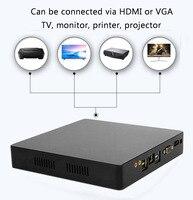 Мини ПК Juegos de компьютер intel Core i7 i5 i3 J1900 офис 4 к 300 м WiFi HDMI VGA USB Gigabit Ethernet Windows 10 Linux HTPC