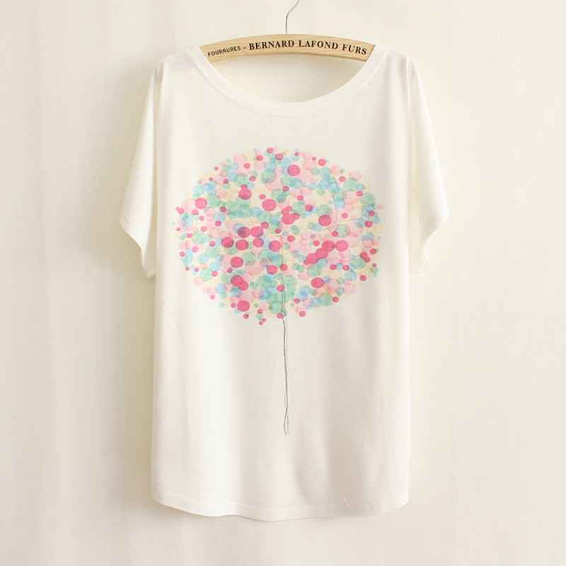 Ms 2017 hot style high quality short sleeve T-shirt easing the bat sleeve unicorn BTS wholesale fashion womens yard king queen