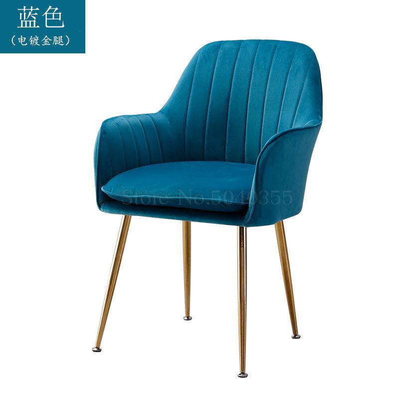 Современный дизайн, мягкий обеденный стул, модный прозрачный стул для гостиной, отдыха, мебель, стул-Лофт - Цвет: VIP 18