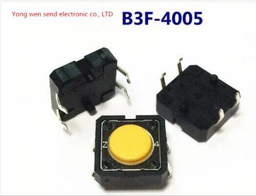 Новый Omron b3f-4005 b3f4005 2.55n Micro Light Touch Выключатель Лифт кнопки ключ зажигания DIP4 Бесплатная доставка ...