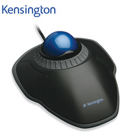 Kensington Original Orbit Trackball Mouse With Scroll Ring Optical USB For PC Or Laptop K72337