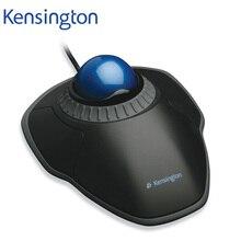 Kensington המקורי מסלול העקיבה עכבר עם גלילה טבעת אופטי USB למחשב או מחשב נייד עם אריזה קמעונאית K72337 K72500