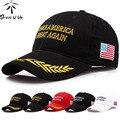 [DRESSUUP] Сделать Америку Великой Снова Шляпа Дональд Трамп Hat Республиканской Регулируемый Крышку Сетки Гольф Политических Патриот Трамп шляпы для мужчин