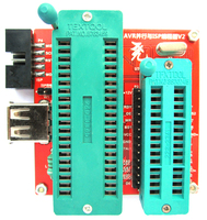 Free Shipping High Voltage Serial Parallel AVR Programmer Unlocker ATtiny2313A