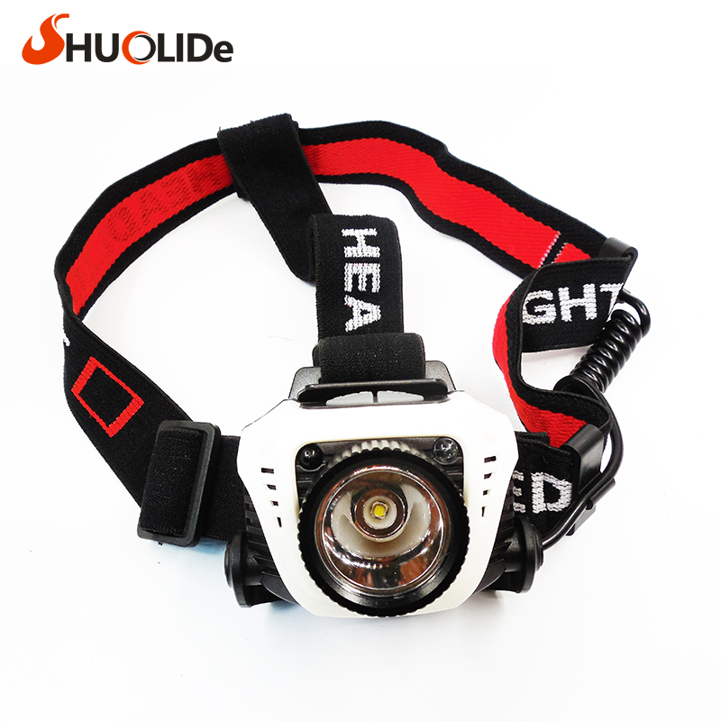 SHUO LI DE Sensing headlights Headlamp for Outdoor Fishing hunt Hiking biking lampe frontale led headlight linterna frontal fenix hl23 hiking night fishing headlamp