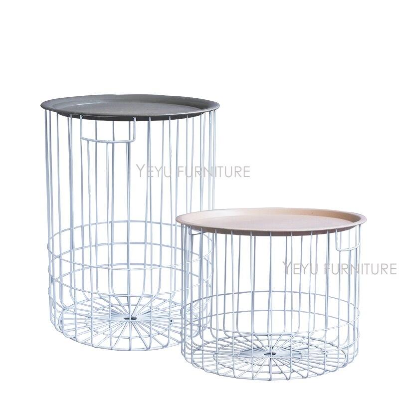 Beistelltisch metall draht  Online-Shop Minimalistischen Modernen Design Loft Style Lagerung ...