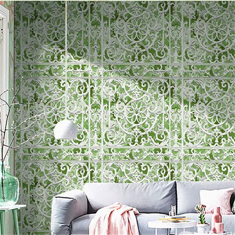 beibehang High-end personality creative art wallpaper background wall cafe hotel bar salon living room Nordic style wall paper