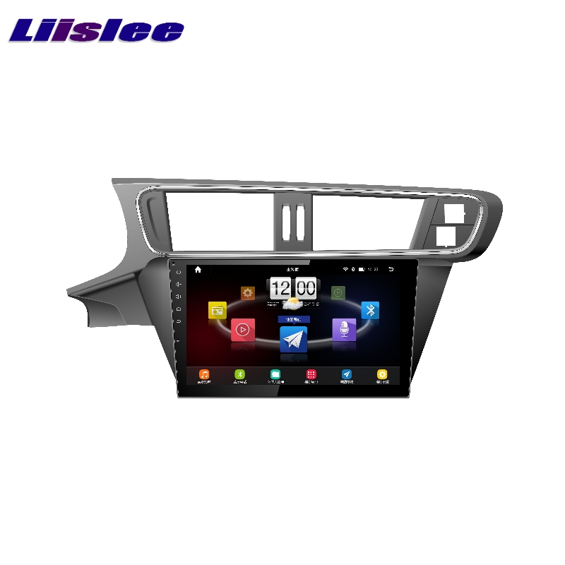 For Citroen C3 XR 2014~2017 LiisLee Car Multimedia TV DVD GPS Audio Hi Fi Radio Stereo Original Style Navigation NAVI