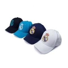 World Football Club Real Madrid Embroidered Baseball Cap Soccer Team Logo Adjustable for Fans