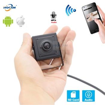 HQCAM 720P 960P 1080P Audio Mini WIFI IP Camera P2P TF Card Slot Wifi AP Wireless Rest & Soft Antenna camhi APP