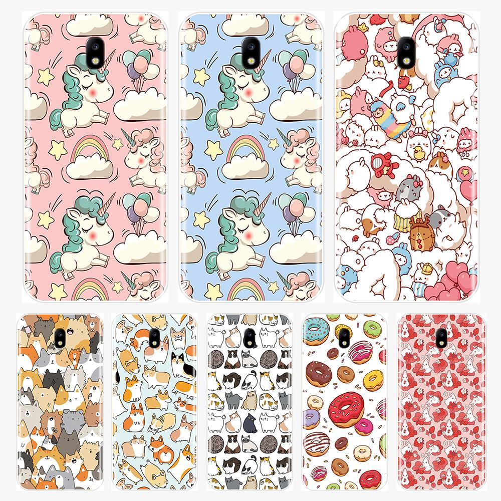 Phone Case For Samsung Galaxy J1 Mini J3 J4 J5 J6 J7 J8 Plus 2016 2017 2018 Soft Silicone Back Cover Samsung J2 Core J5 J7 Prime