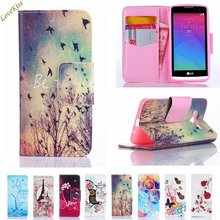 Leather Phone Case For LG Leon H324 H320 H340N C50 C40 G3 S G3s Beat G5