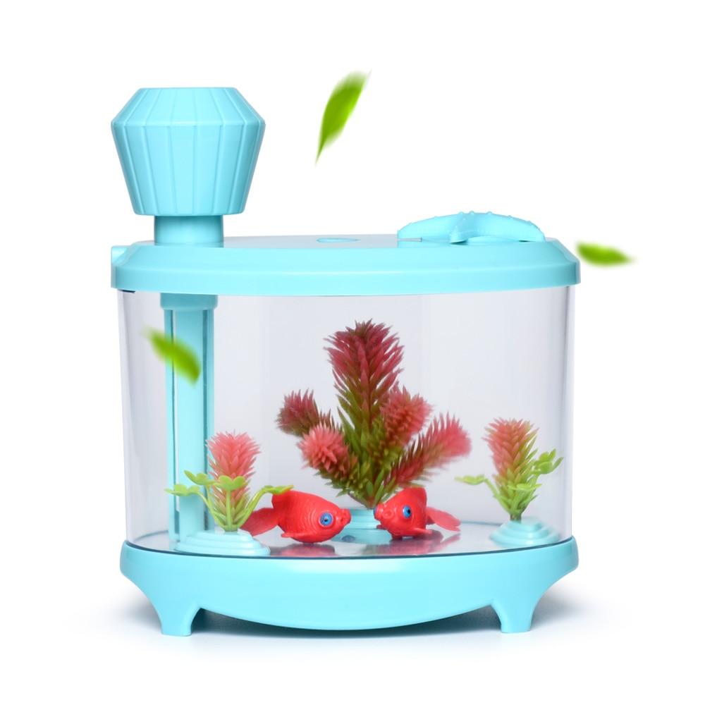 Aquarium fish tank mist maker - Fish Tank Humidifier Ultrasonic Humidifier Aroma Essential Oil Diffuser Led Difusor De Aroma Aromatherapy Diffuser Mist Maker
