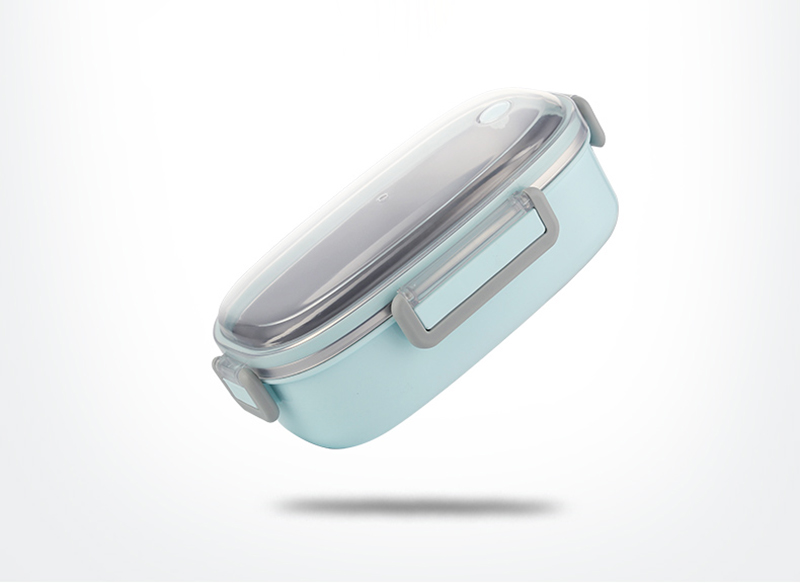 TUUTH Cute Lunch Box Stainless Steel Dinnerware Food Storage Container Children Kids School Office Portable Bento Box B1