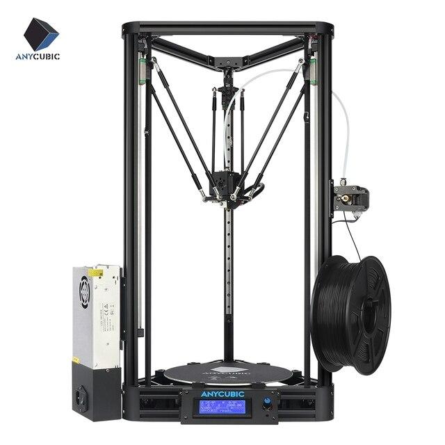 ANYCUBIC 3D מדפסת גלגלת או ליניארי בתוספת מחצית התאסף עם אוטומטי פילוס גדול 3D הדפסת גודל Impressora 3D DIY ערכת