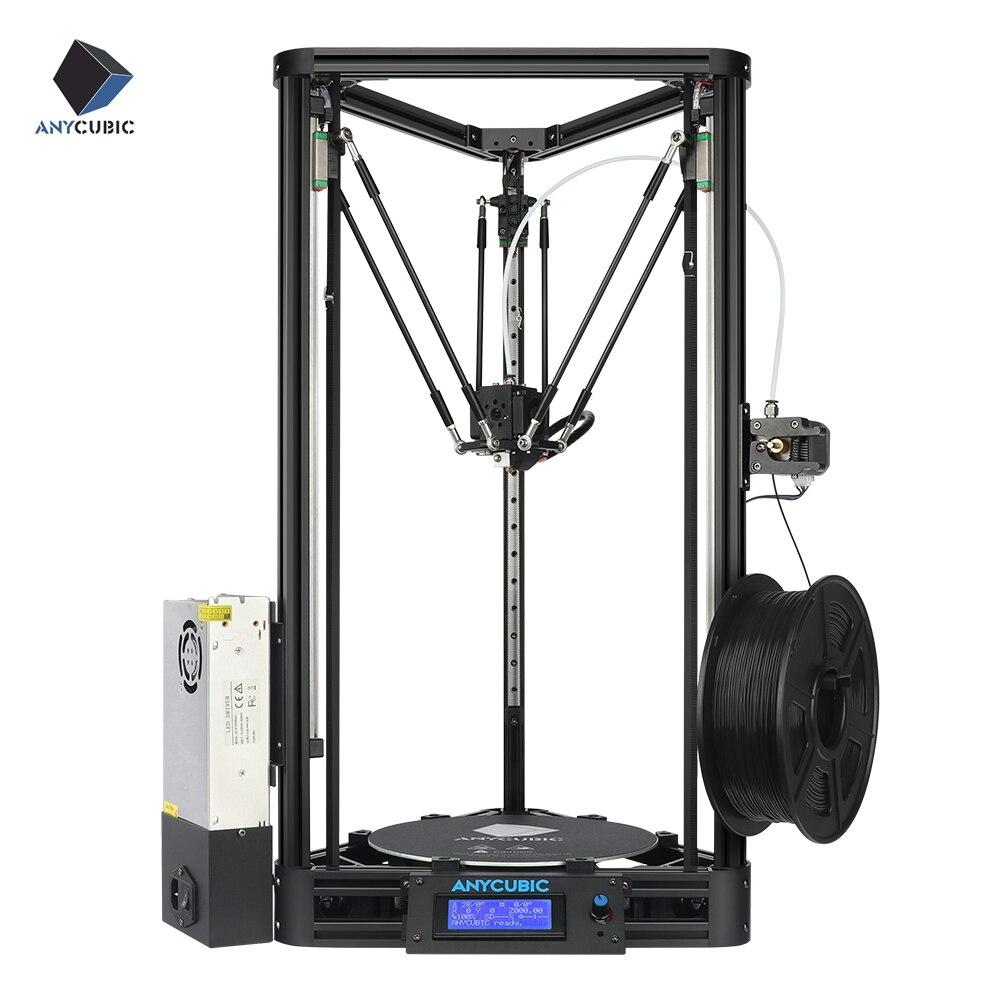 Poulie d'imprimante 3D ANYCUBIC ou linéaire plus la moitié de l'ensemble est assemblé avec nivellement automatique grand format d'impression 3D kit de bricolage 3D