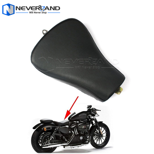 Motorcycle Front Driver Solo Seat Cushion For Harley Sportster Iron XL 1200 883 72 48 2007-2015