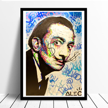 Alec Monopolies Salvadollar Wall Art Canvas Posters Prints Oil Painting Pictures For Bedroom Modern Home Decor Accessories