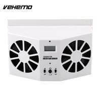 Vehemo Portable Mini Solar Power Auto Car Air Vent Fan Cooler Ventilation System