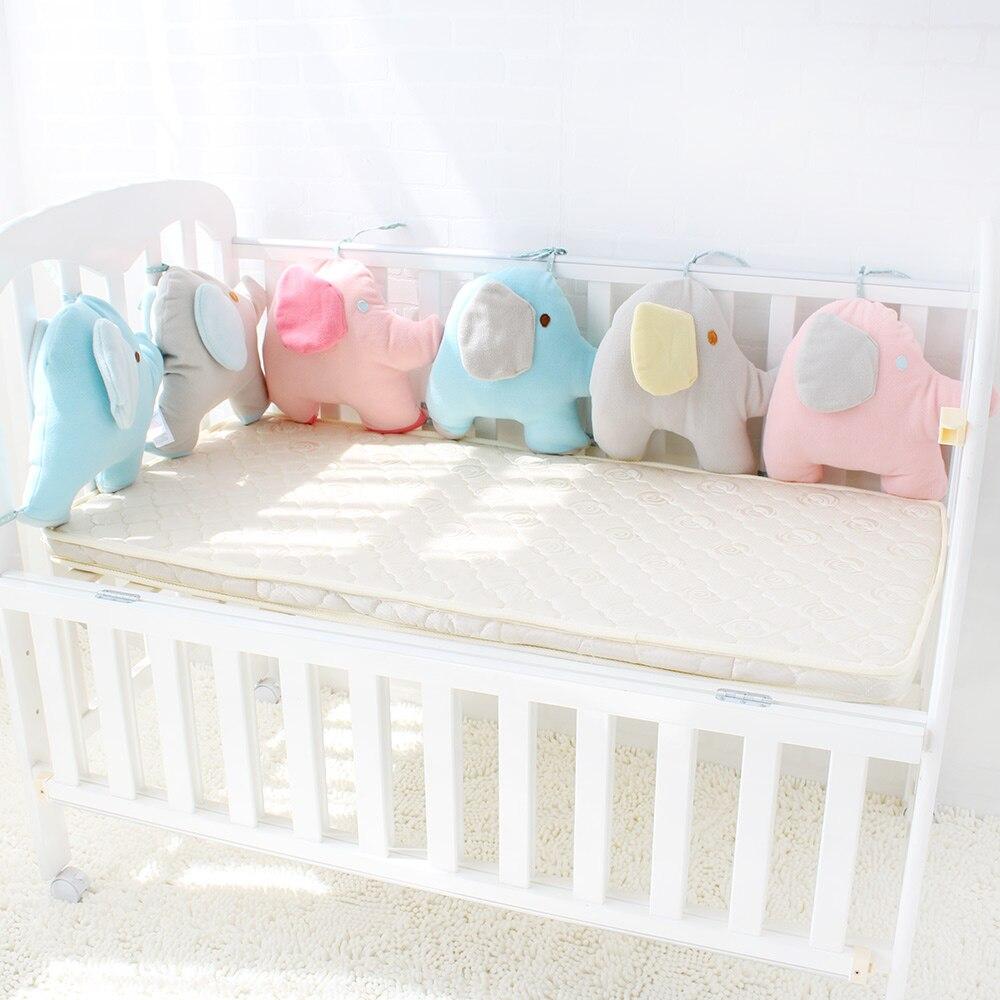 Детская кровать бампер для новорожденных слон кроватки бампер младенческой кроватки промежности Мягкие толстые детские кроватки протекто...