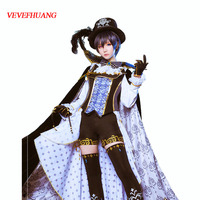VEVEFHUANG Black Butler Sun Awake Anime Ciel Phantomhive Cosplay Yume Halloween Masquerade Party costume With Good Quality