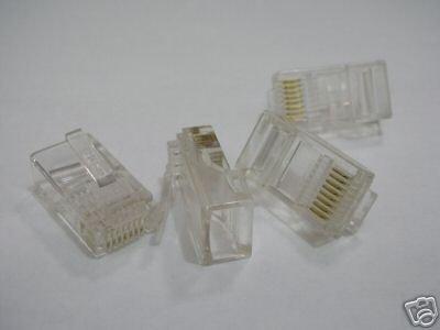 1000 шт. Ethernet кабель CAT5 LAN RJ45 обжимной соединитель 16