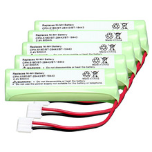 5pack home phone battery walkie talkie battery 2.4 V 500 mAh Home Phone Battery for CPH-518D/BT-28443/BT-18443